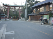 鷲宮神社入り口