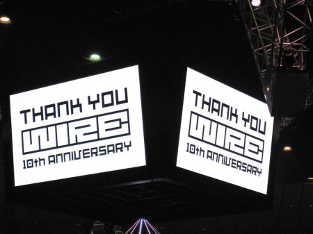Thank you WIRE 10th anniversary!