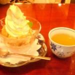 クリームアップルスイートポテト@麻布茶房atre/上野