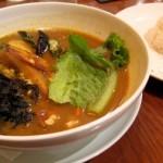 納豆とオクラのシャキシャキレタスのカレー@YOSHIMI池袋