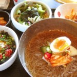 冷麺&ミニユッケ丼@土古里上野バンブーガーデン店